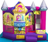 Disney Princess 5 in 1 Combo Bounce House