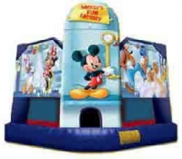 Mickey Mouse Fun House Club Bounce House