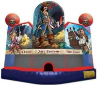 Pirates of the Carribean Club Bounce House