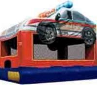 Police Car Bounce House