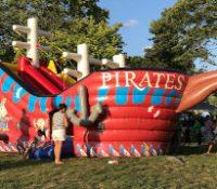 Pirate Ship Jump N Slide Large