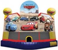 Cars Club Bounce House