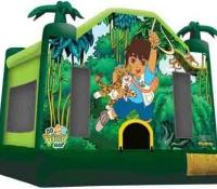 Go Diego Go Bounce House