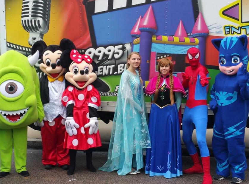 Group Photo  sc 1 st  Total Entertainment & Costume Character Rentals in Boston | Total Entertainment