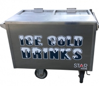 Deluxe Cold Drink Cart
