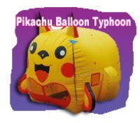 Pikachu Balloon Typhoon