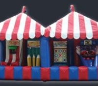 Inflatable Midway Carnival Booth
