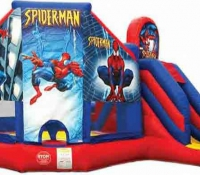 Spiderman Jump N\' Slide