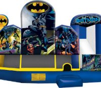 Batman and Robin Club With Slide