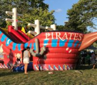 Pirate Ship Jump N Slide Large