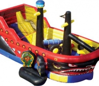Pirate Ship Jump N\' Slide