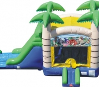 Tropical Jump and Slide