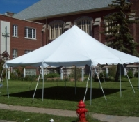 20 by 20 Pole Tent