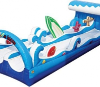 Surf the Wave Double Lane Slip N' Slide