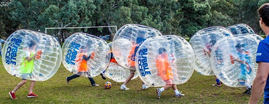 children's bubble ball soccer rentals