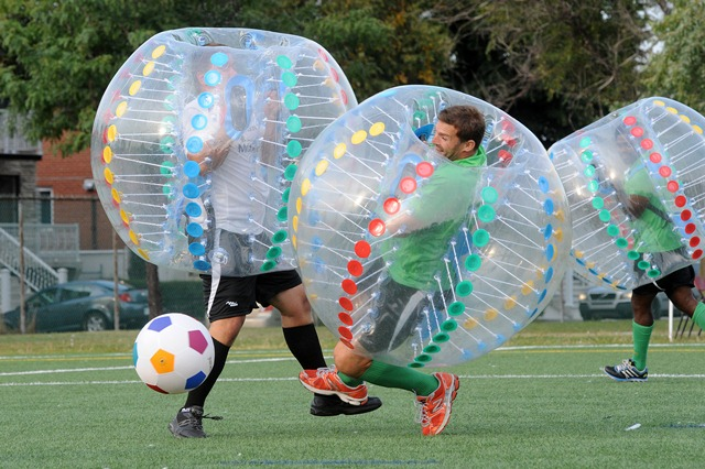 bubble ball soccer rentals