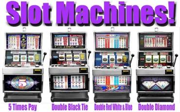 casino machine rentals