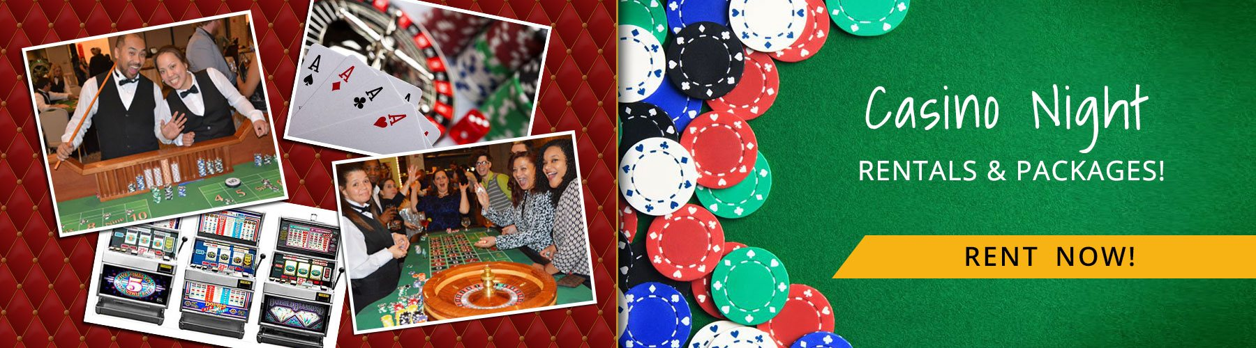 Casino Night Party Rentals