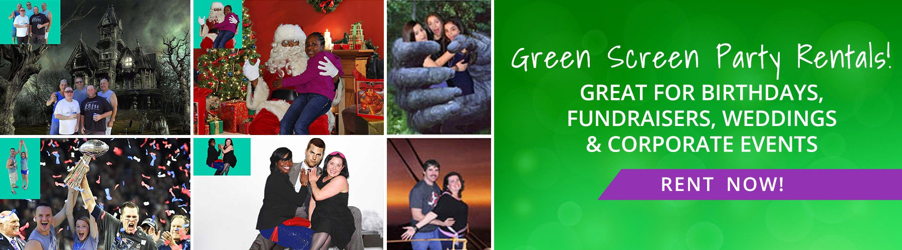 Green Screen Party Rentals