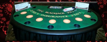 Blackjack Table Rentals in Boston