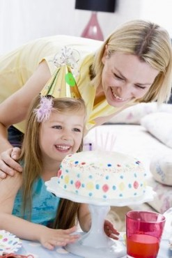 mother and daughter birthday party