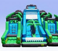 aqua extreme inflatable obstacle course