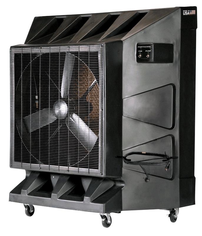 portacool evaporative air cooler fan rentals in boston