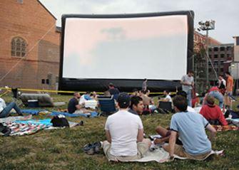 Movie Night Rentable Screens