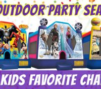 Rent a Bounce House for an Outdoor Party