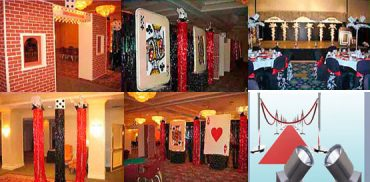 Casino Night Prom Theme
